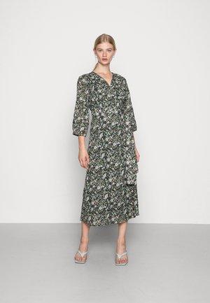 LIONA WRAP DRESS - Day dress - multi green