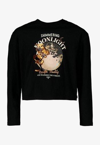 LONGSLEEVE - Long sleeved top - off black