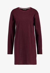 Wemoto - CODE - Jersey dress - black/dark red - 4
