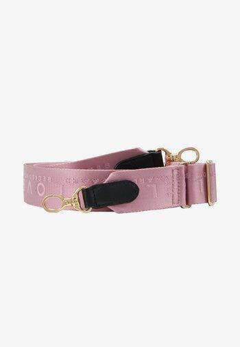 BECKI LOGO STRAP - Other accessories - pink lavender