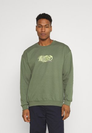 RESPECT THE CULTURE - Sweatshirt - dark green