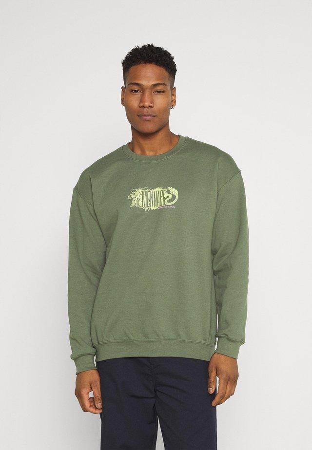 RESPECT THE CULTURE - Sweatshirts - dark green
