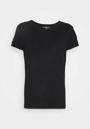 ECO VERO  - Jednoduché triko - black