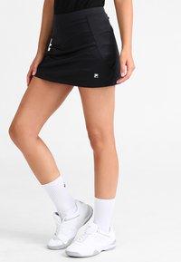 Fila - SKORT SHIVA - Sports skirt - black - 0