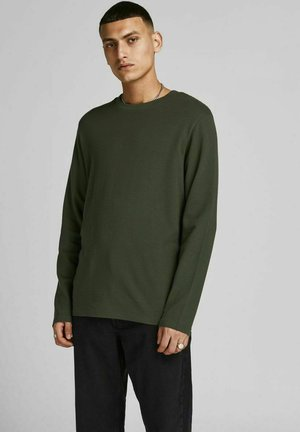 Long sleeved top - forest night