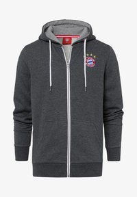 FC Bayern München - CLASSIC  - Zip-up sweatshirt - anthrazit - 0