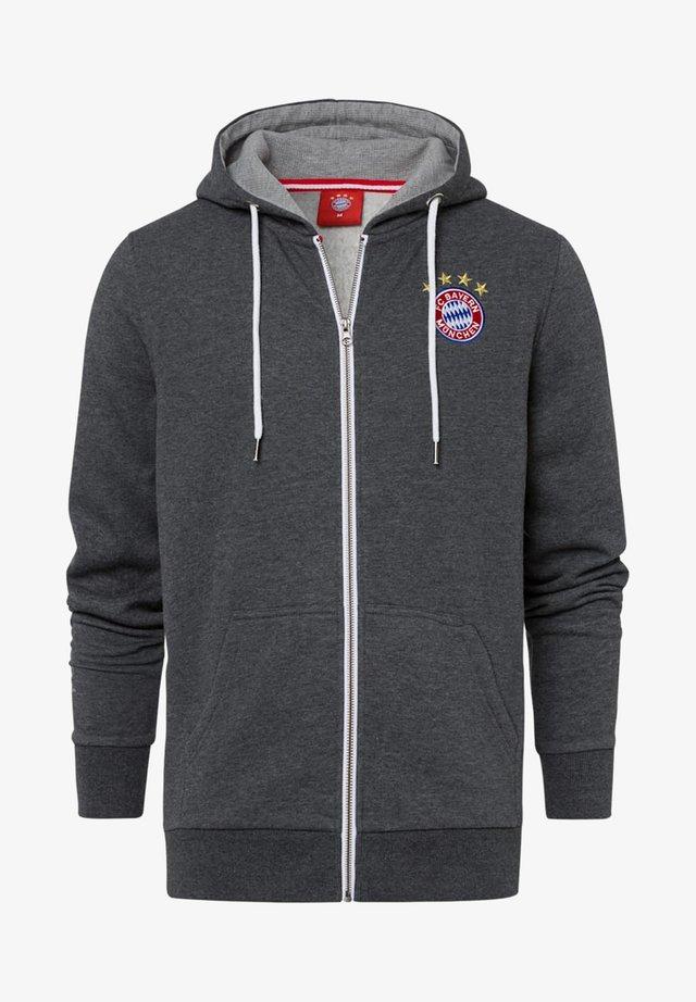 CLASSIC  - Zip-up sweatshirt - anthrazit