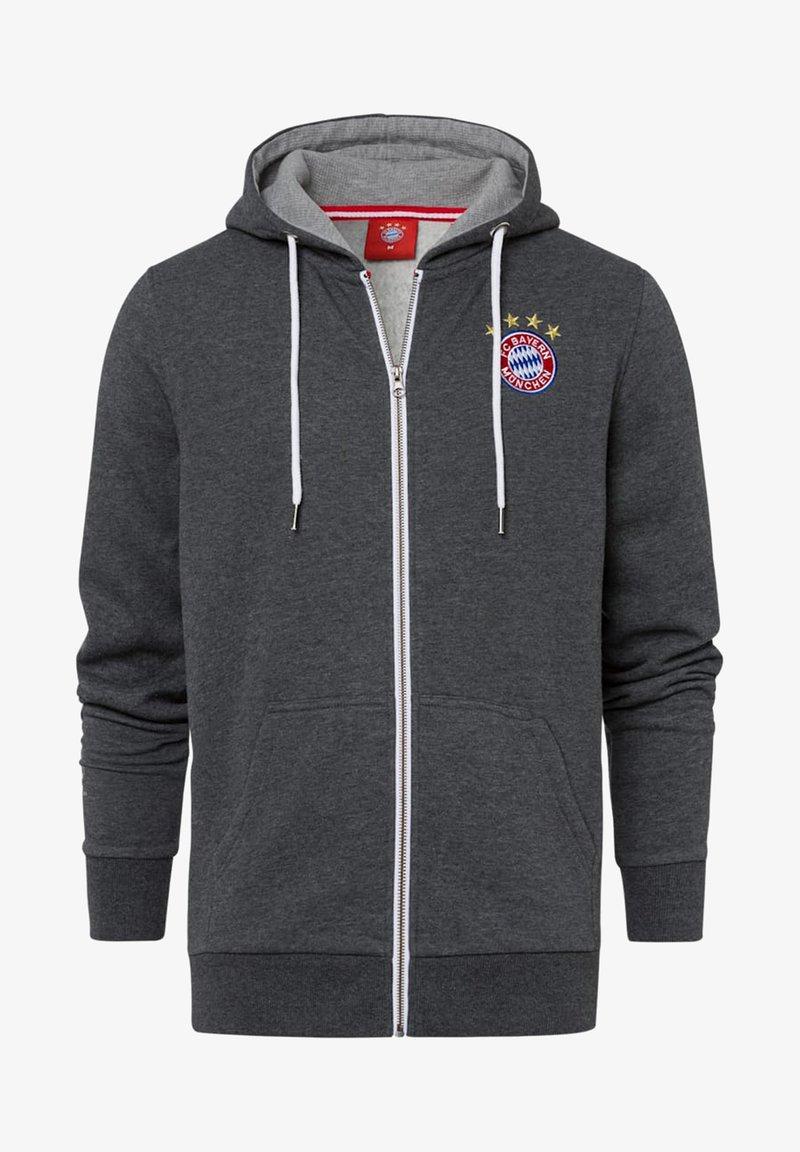 FC Bayern München - CLASSIC  - Zip-up sweatshirt - anthrazit