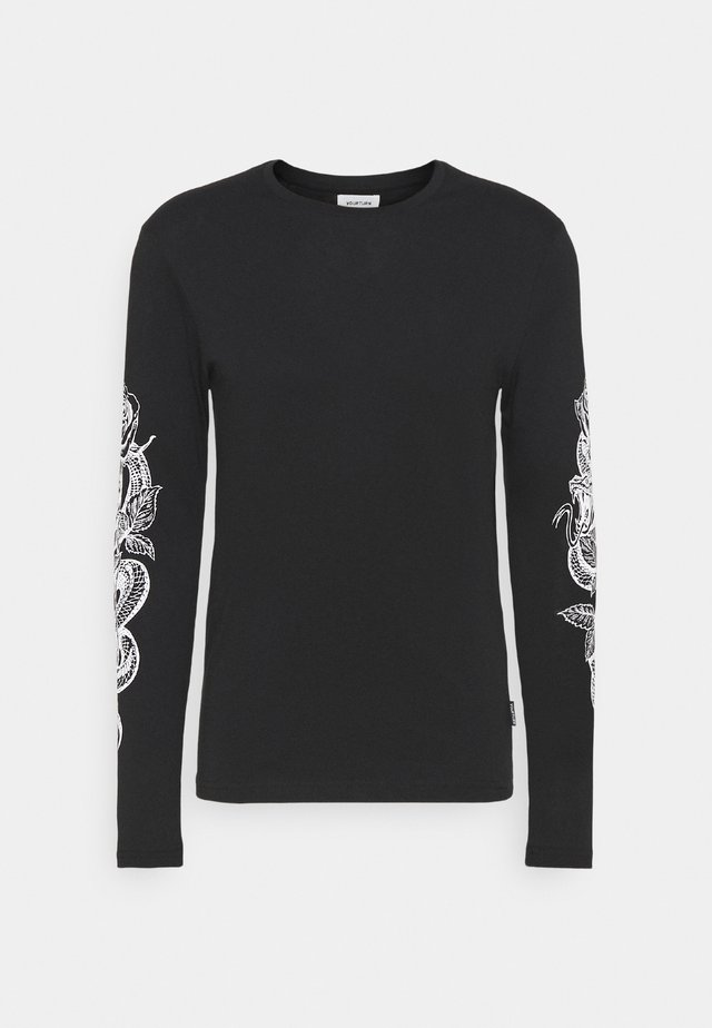 UNISEX - T-shirt à manches longues - black