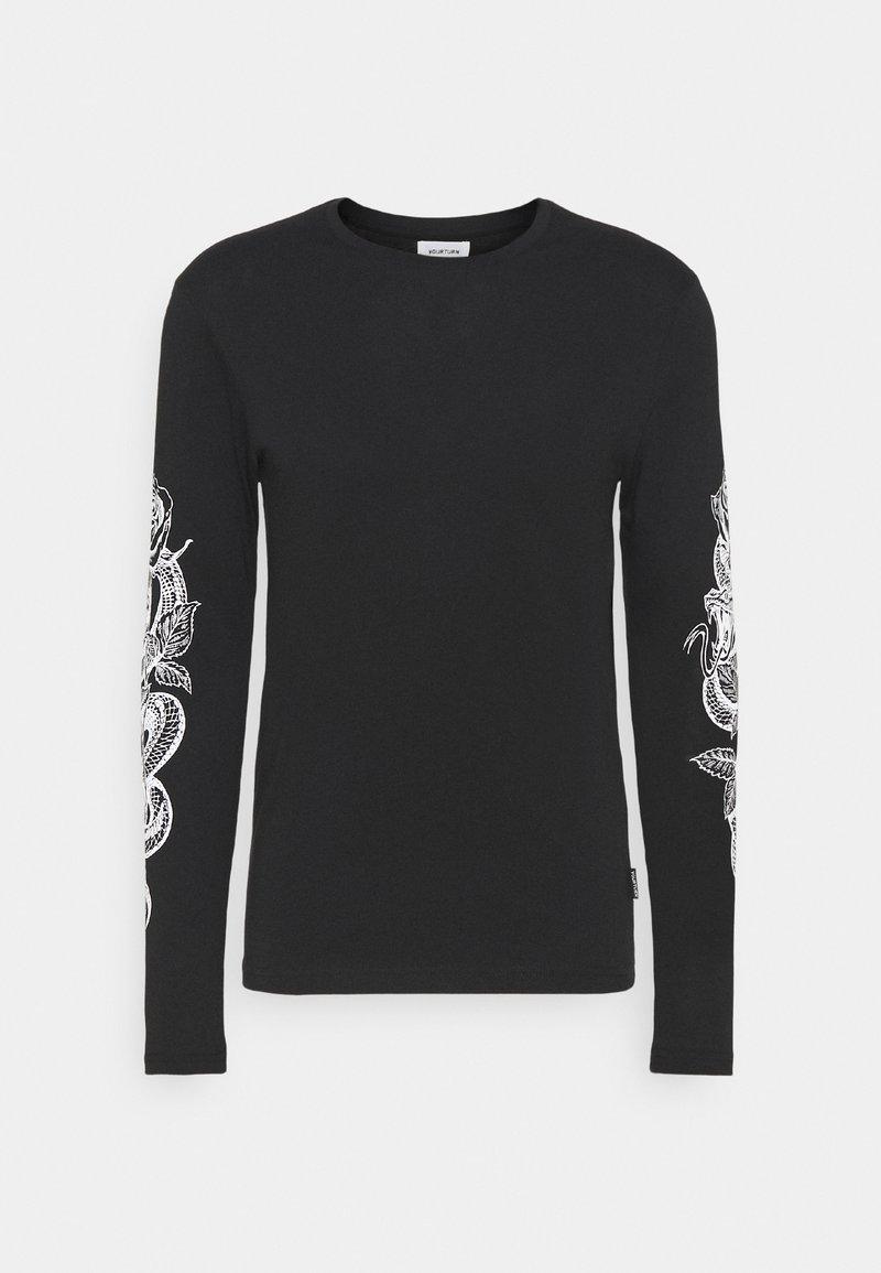 YOURTURN - UNISEX - Långärmad tröja - black