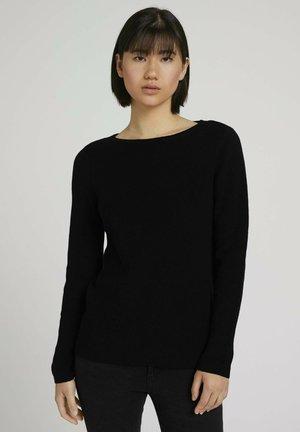 Pullover - deep black