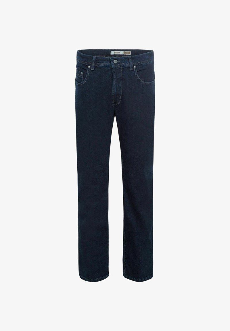 Pioneer Authentic Jeans - HERREN JEANS RANDO (PO 16801.6377) - Straight leg jeans - blue/black raw