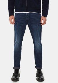 WE Fashion - SUPERSTRETCH - Jeans Skinny Fit - dark blue - 0