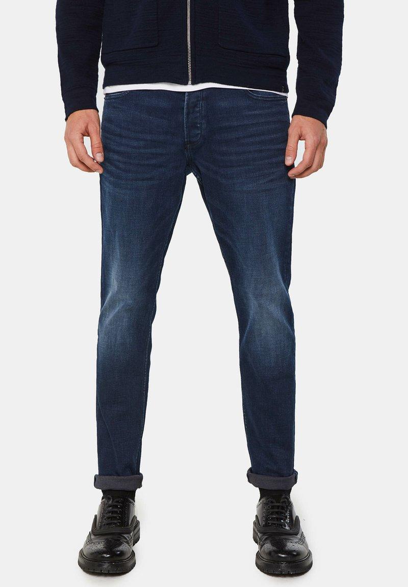WE Fashion - SUPERSTRETCH - Jeans Skinny Fit - dark blue