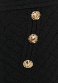 Esqualo - SKIRT - Pencil skirt - black - 2