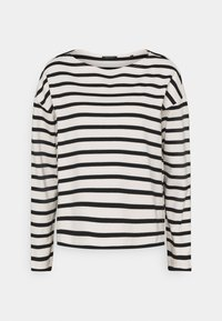 Marc O'Polo - LONG SLEEVE BOAT NECK - Jumper - multi/black - 0
