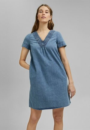 Korte jurk - blue medium wash
