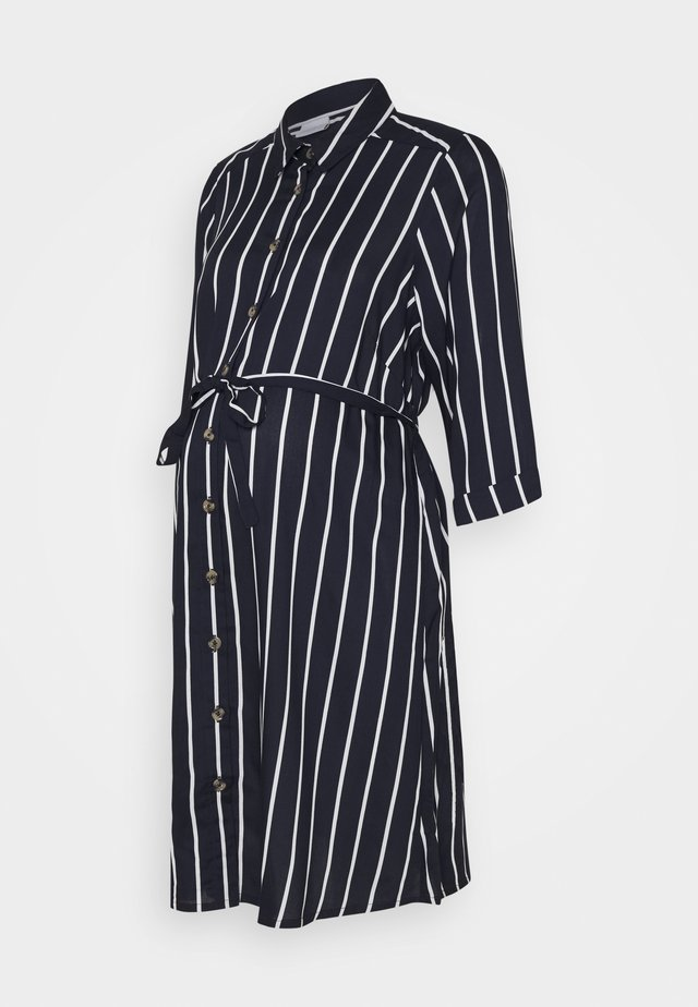 MLSINEM LIA DRESS - Shirt dress - navy blazer/snow white