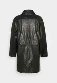 Alexa Chung - OVERCOAT - Leren jas - black - 1