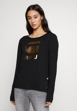 GRAPHIC - Long sleeved top - black