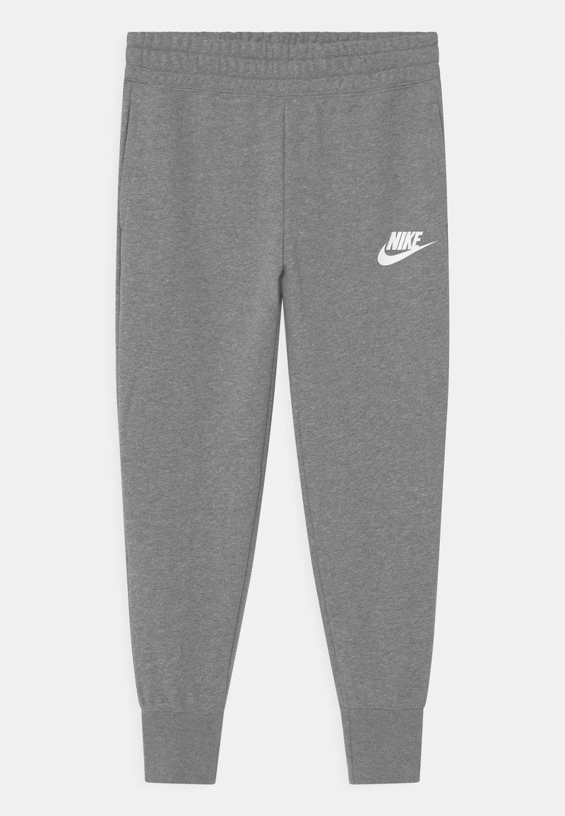 Nike Sportswear - CLUB - Träningsbyxor - carbon heather/white