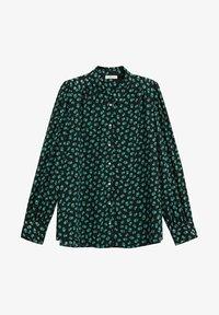 Violeta by Mango - LAURAP - Button-down blouse - grün - 4