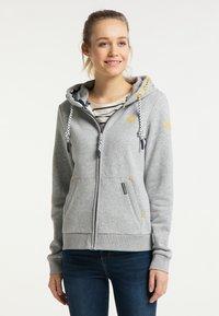 Schmuddelwedda - Zip-up sweatshirt - hellgrau melange - 0