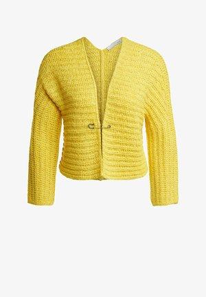Cardigan - primrose yellow