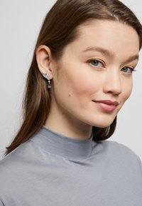 Swarovski - Earrings - silver-coloured - 2