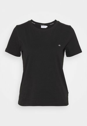 SMALL CNECK  - Basic T-shirt - black