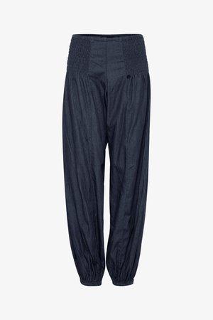 JILL  - Jeans baggy - dark blue