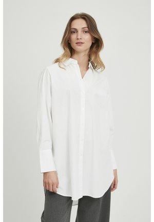 BYGAMZE - Button-down blouse - off white