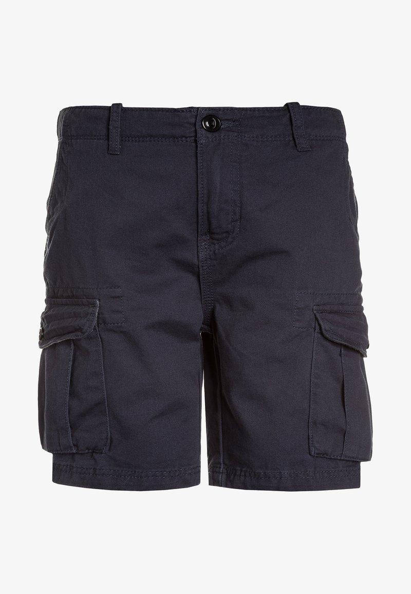 Quiksilver - CRUCIAL BATTLE YOUTH - Pantaloni cargo - blue nights