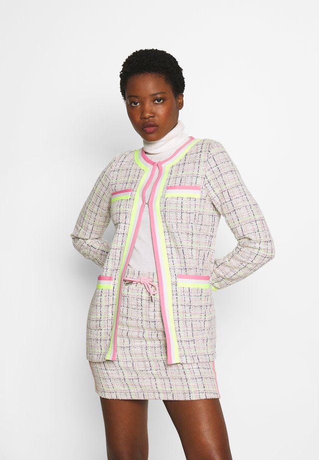 JACKET WITH POCKETS - Kevyt takki - pearl white