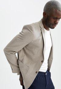 DeFacto - Blazer jacket - beige - 5