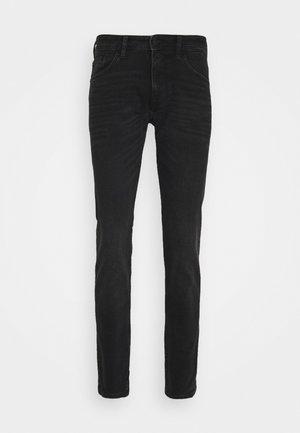 SLIM PIERS STRETCH - Slim fit jeans - dark stone black denim