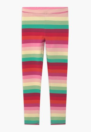 STRIPE - Leggings - red/green/multi-coloured