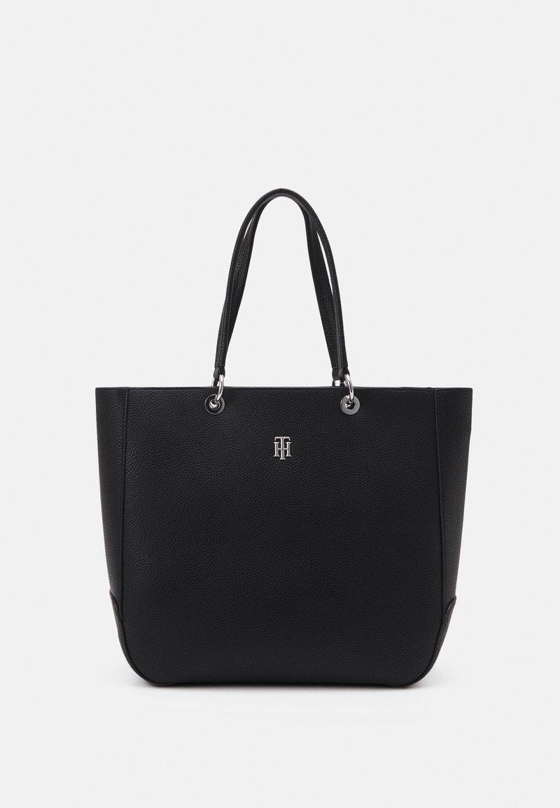 Tommy Hilfiger - ESSENCE TOTE - Handbag - black