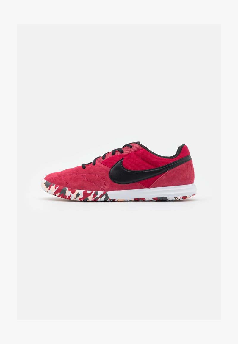 Nike Performance - PREMIER II SALA IC - Indoor football boots - cardinal red/black/white/crimson tint
