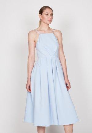STRAPPY SKATER - Cocktail dress / Party dress - light blue