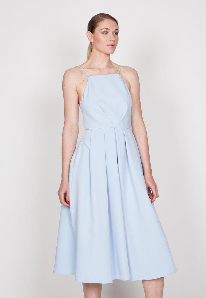 True Violet - STRAPPY SKATER - Cocktail dress / Party dress - light blue