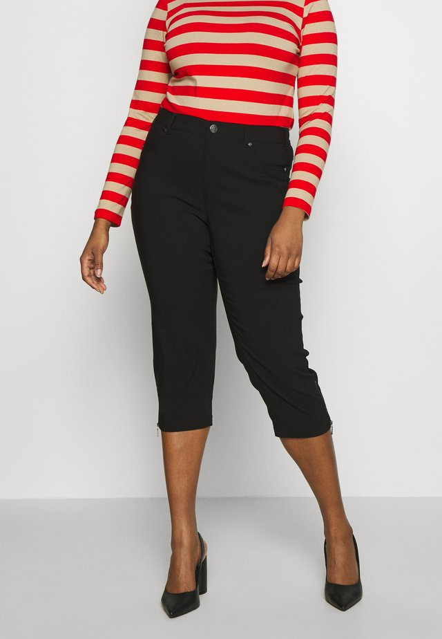 BENGALIN 3/4 - Pantalon classique - black