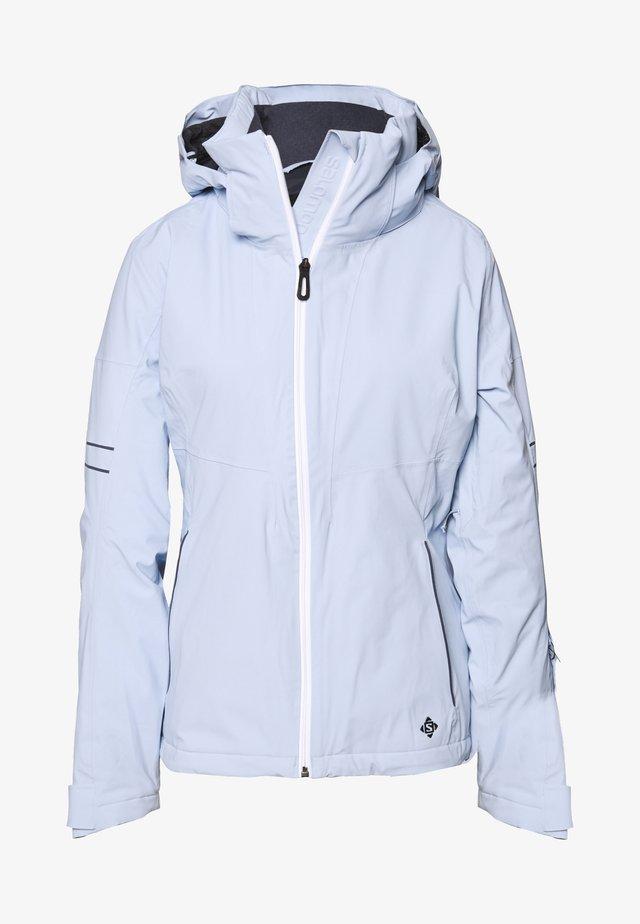 THE BRILLIANT JACKET - Ski jacket - kentucky blue/white/ebony