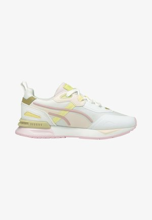 MIRAGE MOX TECH VEGAN UNISEX - Trainers - puma white pearl  gold