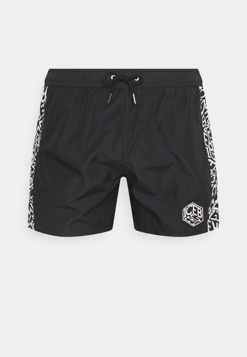 Iceberg - SHORT - Swimming shorts - black