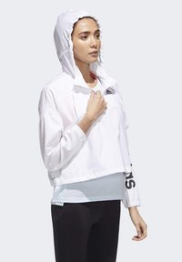 adidas Performance - ACTIVATED TECH WINDBREAKER - Windbreaker - white - 3