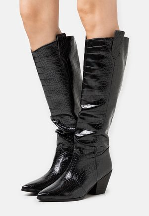 JOSEFINA - Kovbojské/motorkářské boty - black