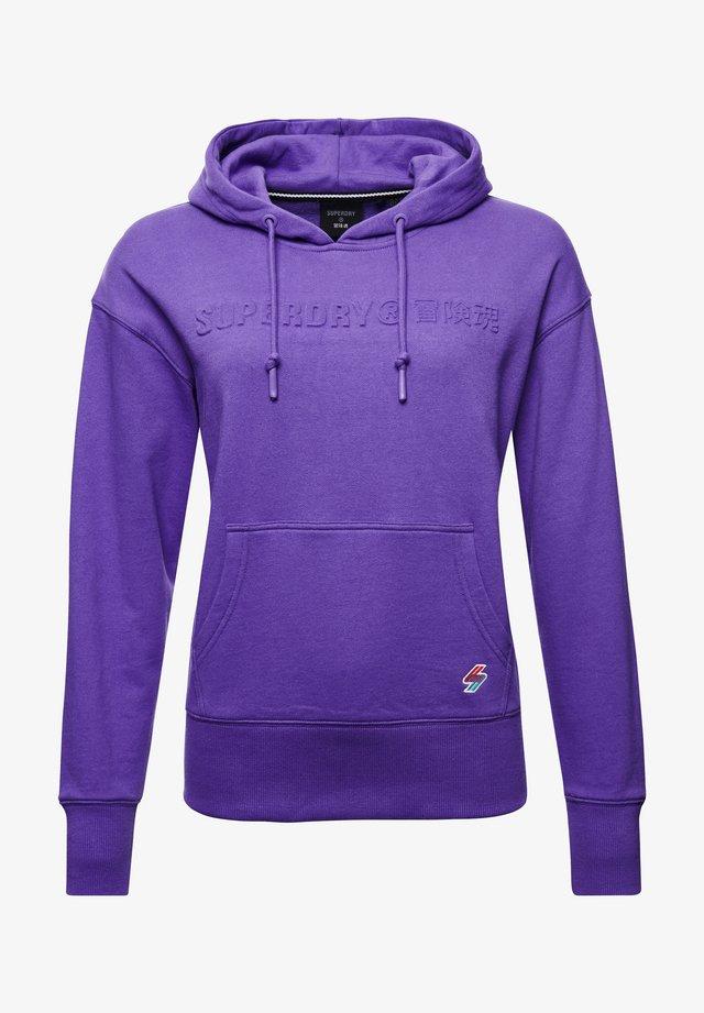 Sweatshirt - purple opulence