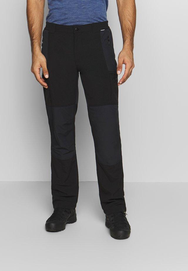 PANGBURG - Trousers - black