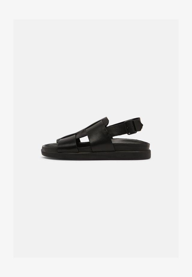 SUNDER STRAP - Sandals - black